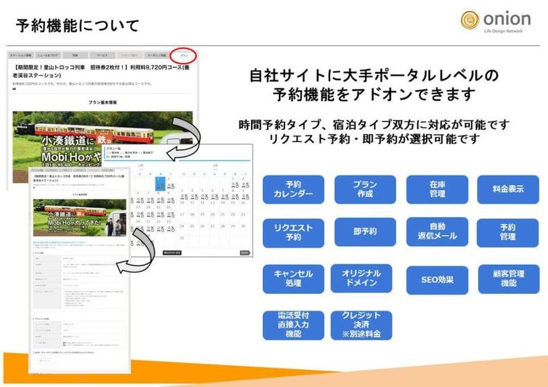 新プラン【オニオンWEBサービス】のスタート